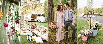 Matrimonio In Stile Bohemien : Stile boho chic